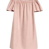 Off-the-shoulder dress - from H&M