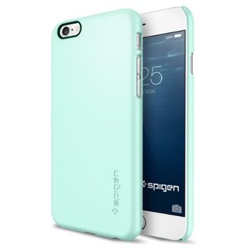 Spigen Thin Fit iPhone 6 Case with Premium Matte Finish Coating for iPhone 6S / iPhone 6 - Mint