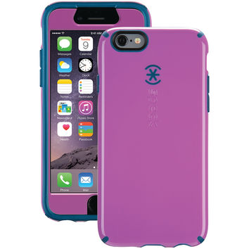 SPECK 71325-C054 iPhone(R) 6/6s CandyShell(R) Case + Faceplate (Beaming Orchid Purple/Deep Sea Blue)