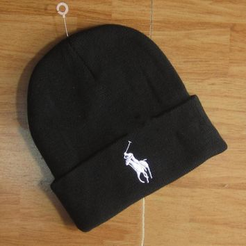 Polo Hip hop Women Men Beanies Winter Knit Hat Cap-3