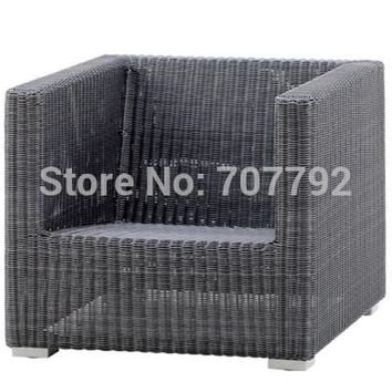 2017 New Style outdoor garden wicker rattan Chester lounge chair