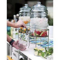 Cold Beverage Jar with Stand