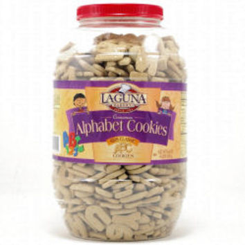 Shopping/Online Shopping from Costco -- ABC-123 Cinnamon Alphabet Cookies (4-lb. PET jar)