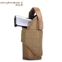 Tactical Vest Pistol Holster Utility Army Military Adjustable Airsoft Hunting Pouch Tornado multiple MOLLE Vertical Accessories