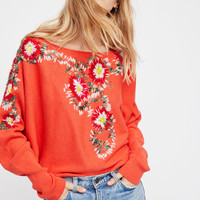 Free People Bouquet Pullover