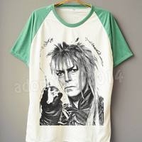 David Bowie T-Shirt Glam Rock T-Shirt Art Rock Tee Shirt Short Sleeve T-Shirt Short Baseball Shirt Unisex T-Shirt Women T-Shirt Men T-Shirt