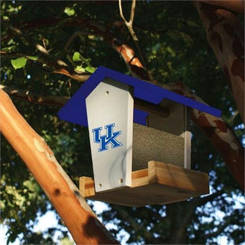 Wooden Bird Feeder - NCAA Kentucky Wildcats