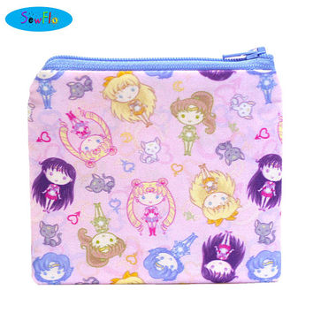 NEW! Zip Bag-Zipper Bag-Sailor Moon Bag-Coin Purse-Change Purse-Coin Wallet-Coin Pouch