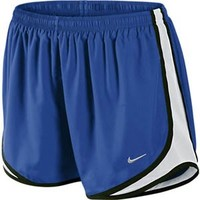 Women's Nike Tempo Track Running Shorts Royal/White/Black at Sport Seasons