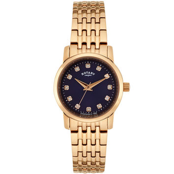 Rotary - Ladies' Sloane Rose Gold Plated Watch LB02462/05