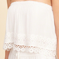 Girls Ruffle Tube Top | Girls New Arrivals | HollisterCo.com