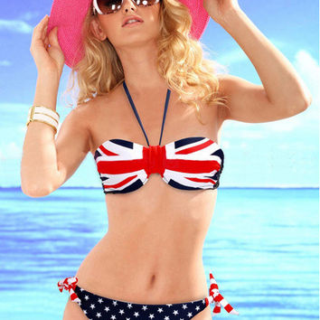 Beach Swimsuit Sexy New Arrival Hot Summer England Style Swimwear Bikini [6050158977]