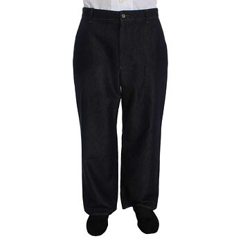 Dolce & Gabbana Black Denim Casual Baggy Jeans