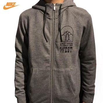 Nike Men's Winter Breathable New Knitted Leisure Jacket 805135-071