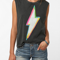 Truly Madly Deeply Studded Bolt Tank Top