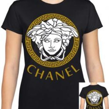 Versace Chanel Parody Girls T-Shirt
