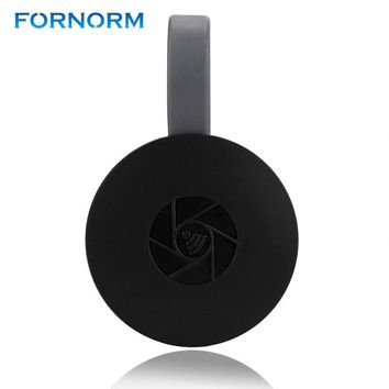 FORNORM Mini 2.4G Wireless WiFi Dongle Receiver TV Stick 1080P HD TV Display Airplay Adapter Media For Smartphones Tablet PC