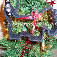 Scottish Terrier Christmas ornament/free shipping