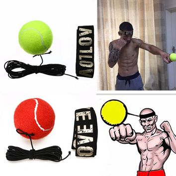 Fight Boxeo Ball Boxing Equipment With Head Band For Reflex