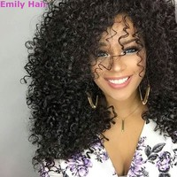 New Stylish Lolita Curly Full Wig Hairstyle Wigs  Curly Wigs (Color: Black Size: Pack of 1, )