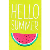 Hello Summer Watermelon Beach Towel