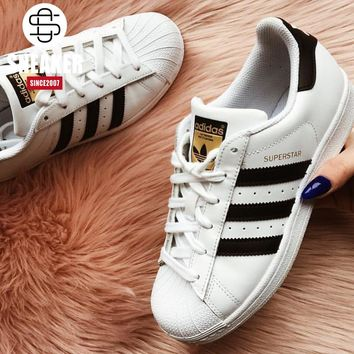 ADIDAS Superstar Clover Gold shell Head Board shoes JUICEACTION