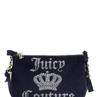 Juicy Crown Velour Crossbody by Juicy Couture