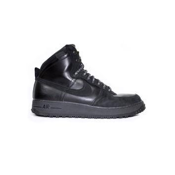 NIKE Air Force 1 High DCN Military Boot - black leather boots - 537889-010 - mens shoe