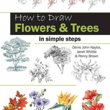 How to Draw Flowers & Trees in Simple Steps (How to Draw)