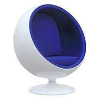 Ball Chair, Blue