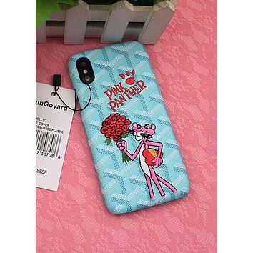 Pink Panther iPhone8 Apple iPhone 7plus Cute Cartoon Mobile Shell F-OF-SJK 9