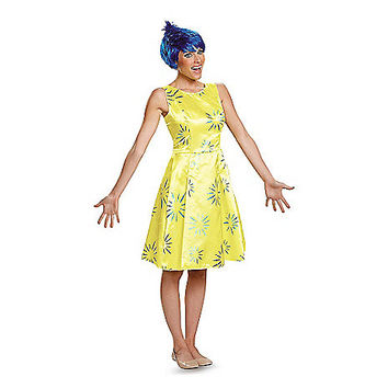 Inside Out Joy Adult Womens Costume - Spirithalloween.com