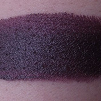 Wicked - Opaque Dark Grape Plum Red Lipstick BOLD COLOR Gothic Noir Sexy
