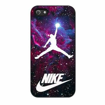 Michael Jordan Nike Galaxy Blue iPhone 5 Case