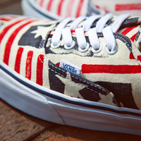 "Van Doren Series 2013 Spring – ""Weathered Flag"" 