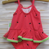 Le Top- Watermelon Swimsuit