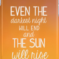 Les Miserables-The Sun Will Rise iPhone Cases & Skins