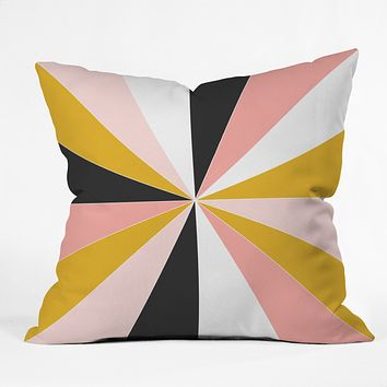 Caroline Okun Pinwheel Throw Pillow
