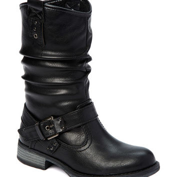 Black Burneadette Pull-On Boot
