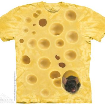 New SWISS CHEESE MOUSE T SHIRT