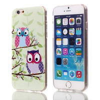 Owl StyleSoft TPU Case For Apple iPhone 6 6S