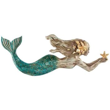 Resin Mermaid Wall Art