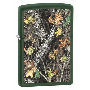 Zippo Lighter - 28332 Mossy Oak Break-up Camoflage Classic Lighter Made in USA