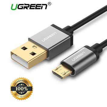 Ugreen Micro USB Cable 2A Fast Charge USB Data Cable for Samsung Xiaomi Tablet Android USB Charging Cord Microusb Charger Cable