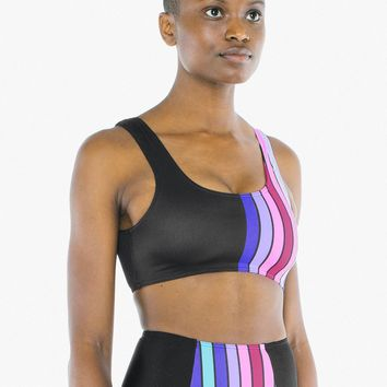 Nylon Tricot Cropped Tank Top | American Apparel