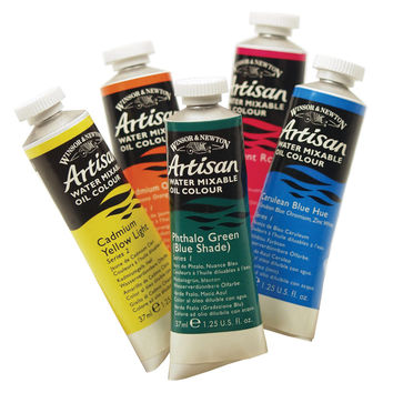 Water Mixable Oil Color 37ml Yellow Ochre