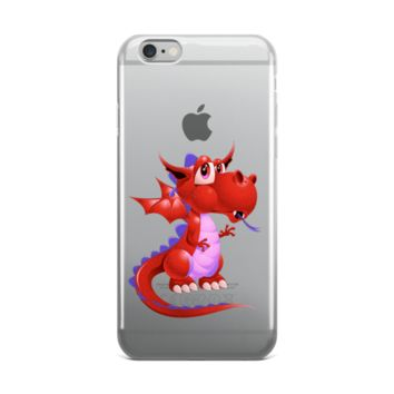 Draco Red iPhone case
