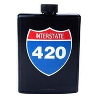 - 420 Sign Flask - each - Other
