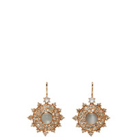 Champagne Bull's Eye Earrings | Moda Operandi