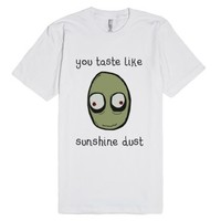Salad Fingers 1-Unisex White T-Shirt